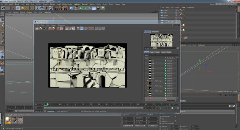 06_Edificio 3D_Romper - renderizando